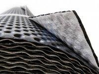 Fólie s nakašírovanou filtrační textilií, GUTTABETA DRAIN