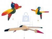 Pták létací dřevěný
