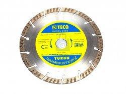 Kotouč diamantový TURBO, výrobce TECO