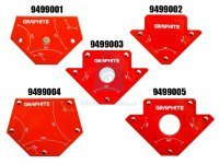 Magnet úhlový pro svařování, Graphite
