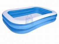 Nafukovací bazén rodinný, 2,62 x 1,75 x 0,51 m