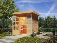 Sauna finská venkovní, KARIBU JORGEN, pro 2 osoby