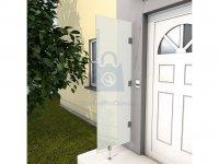 Stěna boční ke vchodové stříšce GUTTAVORDACH HD, HD/V, HD/L, HD/LT, HD/FT a HD/LED