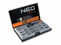 Sada šroubováků na jemnou mechaniku, osmidílná, NEO tools