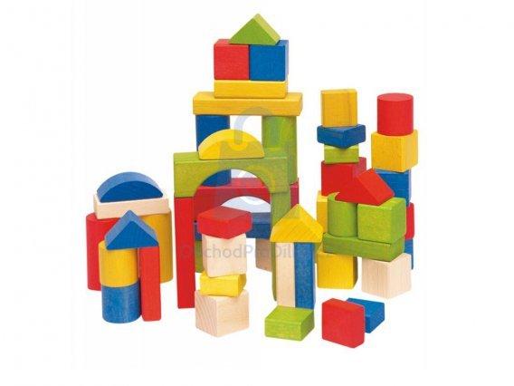 Barevná dětská stavebnice