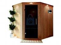 Sauna finská, KARIBU SIIRIN, pro 2 osoby