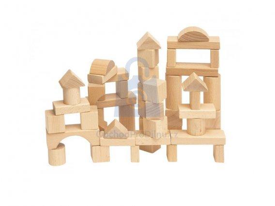 Dětská stavebnice z přírodního dřeva
