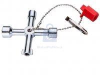 Klíč univerzální na rozvodové skříně NEO tools