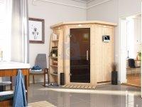 Sauna finská, KARIBU LARIN, pro 2 osoby