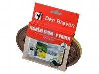 Profil těsnící z EPDM pryže P-profil, Den Braven