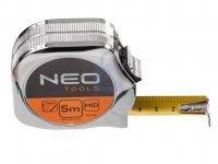Metr svinovací, ocel/nylon se stopem, NEO tools