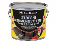 Tmel střešní bitumenový DenBit AQUA STOP, Den Braven