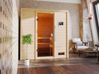 Sauna finská, KARIBU ADELINA, pro 2 osoby
