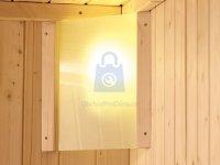 Světlo saunové do finské sauny KARIBU