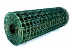 Síť svařovaná pozinkovaná, potažená zeleným PVC