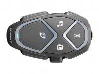 Bluetooth handsfree pro uzavřené a otevřené přilby CellularLine Interphone AVANT