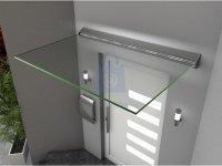 Stříška vchodová GUTTAVORDACH LED, hliník