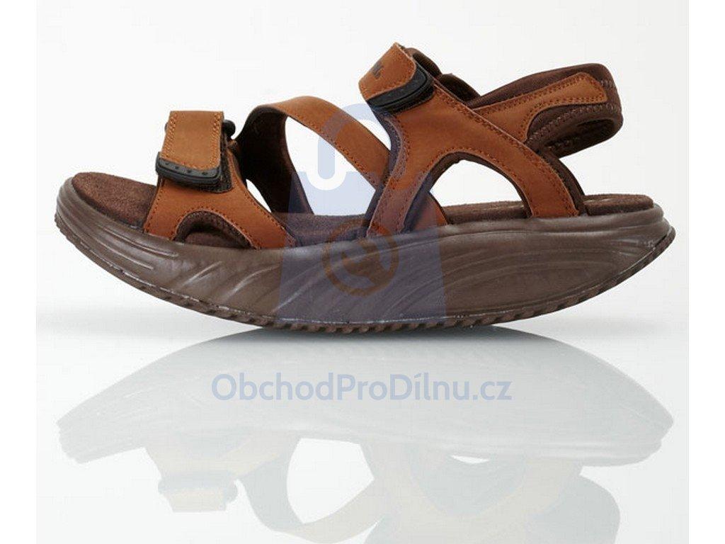Balanční sandály FIT WALK hnědé d247ce671f