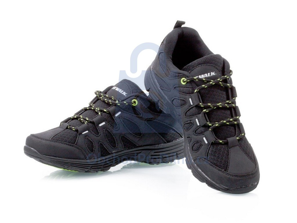2d5d212443f Sportovní obuv Fit Walk černo-zelené
