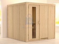 Sauna finská, KARIBU RODIN, pro 3 osoby