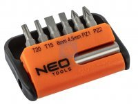 Sada bitů s držákem NEO tools