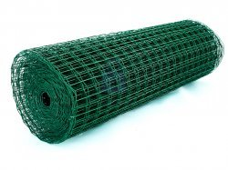 Pletivo svařované VP, drát 2,5, oka 50x50, ZN+PVC