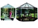 Zahradní pavilony, domky