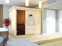 Sauna finská, KARIBU GOBIN, pro 3 osoby