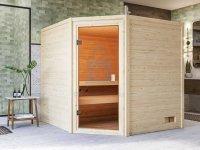 Sauna finská, KARIBU JARA, pro 2 osoby