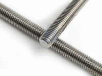 Tyč závitová, DIN 975, levý závit, nerez A2